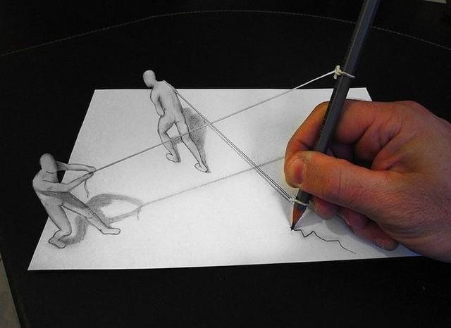 Desenhos Tridimensionais Que Parecem Reais